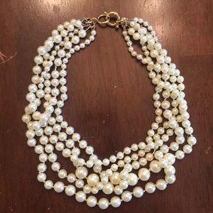 Jcrew pearl bundle necklace